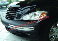2001-05 Chrysler PT Cruiser CHROME Bumper Guard Cover 4pc set NEW! Chromiumtech