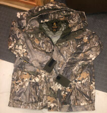 Mens Large Browning Gortex Hunting Hooded Coat Xchange Custom No Liner
