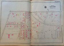 1925 PHILADELPHIA PENNSYLVANIA WILLIAM PENN CHARTER SCHOOL EAST FALLS ATLAS MAP
