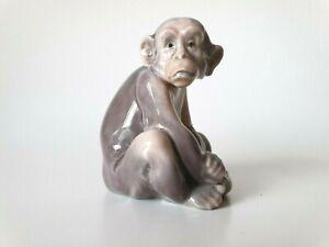 LLADRO Small Monkey 5432 #P1 Antonio Ramos