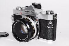 """""""Near Mint"""" KONIKA Autoreflex T3 w/konika Hexanon ar 52mm f/1.8 from Japan *03"""