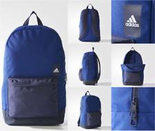 ADIDAS Backpack CLASS Rucksack Dk Blue Strong Nylon Shoulder Training Bags BNWT