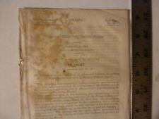 Government Report 1848-Francis Cazeau Claims Supplies Canada Revolutionary War