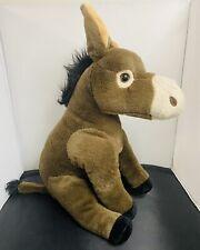 "Wild Republic Mule Burrow Donkey 14"" Plush"
