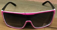 New Unisex DE Eyewear Designer Oversize Large Shield One Lens Pink  Sunglasses