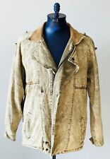 Vintage M. Julian Adventures Acid Wash Jean Jacket Mens Size 42