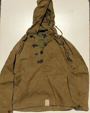 US WWII P1944 Wet Weather Treated Canvas Parkas SIZE SMALL