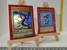 YuGiOh Orica Blue - Eyes White Dragon Holo Götter Costum Super Yu-Gi-Oh!