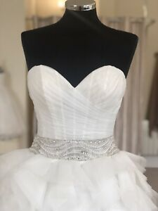 sottero midgley wedding dress Jerrica Size 8 Jean Paul Gaultier Look