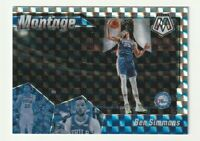2019-20 Panini Mosaic Prizm Silver Montage Ben Simmons Hobby 76ers SP #17