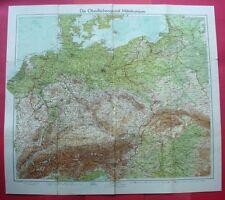 1939 ? Deutschland + Polen / Germany + Poland / Niemcy + Polska / Karte map mapa