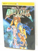 QUOVADIS The Real Guide Sega Saturn Book KO1x*