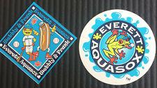 Everett Aqua Sox MiLB baseball stickers (MLB Seattle Mariners Class A farm club)