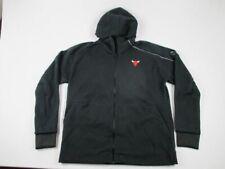 NEW adidas Chicago Bulls - Men's Black Jacket (3XLT)
