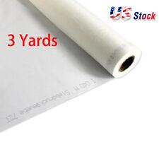 Us Stock 3 Yards 110 Mesh X 63 Width White Silk Screen Printing Fabric