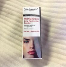 TRANSFORMULAS WRINKLE BLOCK LINE RESTRICTION CREME 15ml Use Before Serum