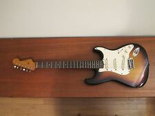 Vtg 1963 FENDER SUNBURST STRATOCASTER ELECTRIC GUITAR STRAT NECK BODY