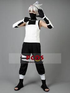 ANBU Copy Ninjia uniform Kakashi Hatake Cosplay Costume Rachel mp000088