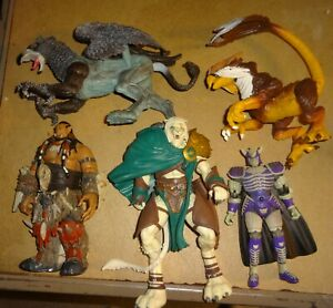 fantasy medieval dungeons dragons monster knights lot 2 misc toys figures