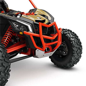 Can-Am New OEM Maverick X3 Front Pre-Runner Bumper, Can-Am Red, 715003433