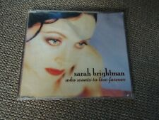 Sarah Brightman Who Wants To Live Forever RARE CD Single