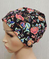 Cotton chemo skull hat cancer bonnet cap hair loss alopecia head wear jersey cap