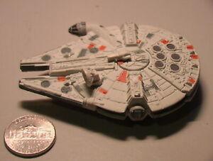 Star Wars 2005 Millennium Falcon Titanium Incomplete C-6 Hasbro Galoob METAL!!!!