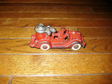 Antique Circa 1930 Cast Iron Fire Pumper Truck Toy Excellent Condition