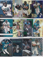 Fred Taylor Lot 12 Different Cards With Inserts Numbered NFL Football