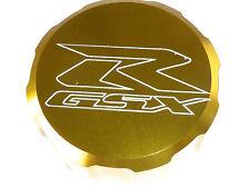 SUZUKI GSXR600 GSXR750 FRONT BRAKE MASTER CYLINDER SCREW TOP LID CAP GOLD B13H