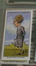 #36 Miss Enid Wilson Golf Derbyshire-deportes tarjeta R