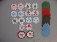 Stampin' Up! Christmas Deer Friends Scallop Circle/Circle Punches 32