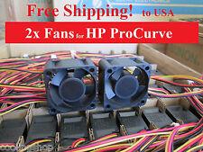 Quiet! HP ProCurve 2650 (P/N J4899A) Replacement Fan Kit  2x new fans by Sunon