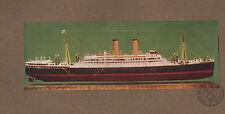 1924 Steamship modello stampa ~ ORAMA (1924) i signori della linea ORIENT