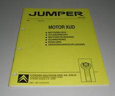 Werkstatthandbuch Citroen Jumper Motor XUD 03/1994