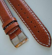 NEW SWISS ARMY 19mm SWiSS GolDeN RePtiLe LeaTheR BAND/STRAP~OFFICERS 1884 + MoRe