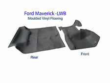 To suit Ford Maverick Wagon Y60 Moulded Rubber Vinyl Flooring Front and Rear
