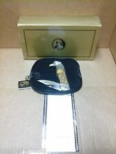 Franklin Mint The Great American Eagle Metal Relief Collectible Knife W/Coa