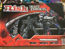 Risk Board Game ~ Transformers CYBERTRON WAR EDITION BOARD GAME ~ PARKER 2007