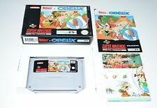 Nintendo SNES Spiel ASTERIX & OBELIX + OVP + POSTER