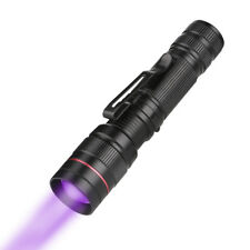 Super mini Aluminium UV LED Flashlight 395nm Ultra Violet Flashlight Torch Light