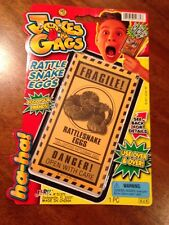 RattleSnake Eggs, Joke/Gag Item, New in package by JA-RU CO. #51372