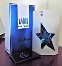 A*MEN PURE ENERGY THIERRY MUGLER 3.4 OZ / 100 ML EDT SPY COLOGNE MEN HOMME UOMO