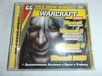 Warcraft Anthology 2005 Game Card Utilities Rare Russian Version DVD-ROM