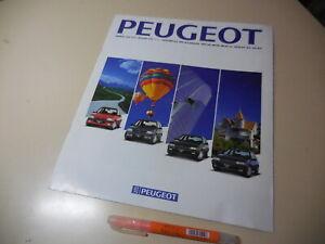 Peugeot 205 309 405 605 Japanese Brochure