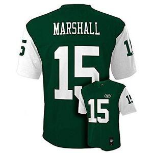 New York Jets Jersey Brandon Marshall #15 New York Jets Green Youth Mid Tier