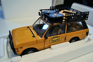 1/18 ALMOST REAL RANGE ROVER CAMEL TROPHY 1982 PAPOUASIE NOUVELLE GUINEE 810106
