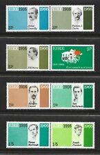 IRELAND COMPLETE SE-TENANT STAMP SET SCOTT #206 - 213 MNH FRESH 1966