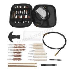 Universal Hand Guns Pistol Cleaning Kit 22 357 38 40 45 9mm 20Pcs Carrying Case