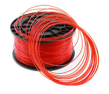 FILAMENT- FIL  imprimante 3D PLA 1.75mm ROUGE TRANSPARENT 1Kg  PLA-TR175RED